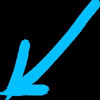 arrow middle